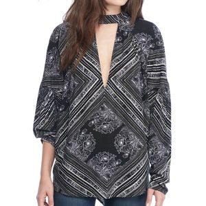 Free People Walking On A Dream Tunic Boho Top